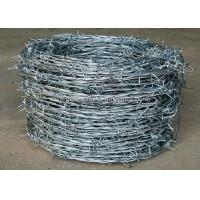 Buy cheap Modern Galvanized Barbed Wire Machine 2.2kw With Electric Galvanized Wire from wholesalers