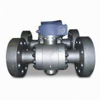 Buy cheap API6D Carbon Steel Flanged Trunnion Mounted Ball Valve Class 150 - 2,500LB from wholesalers