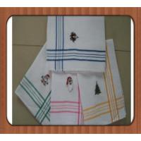 Buy cheap cotton dish washing cloth OEM embroidery waffle kitchen towel 18*28in from wholesalers
