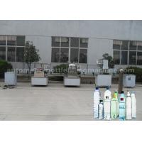 Large Capacity Beverage Filling Machine 2000BPH For PVC PET PPL Plastic Bottle