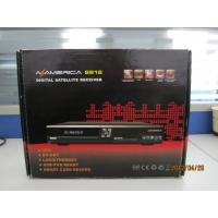 Buy cheap Internet Sharing Satellite Receiver AZ America S812 With MPEG-2, DVB-S, MCPC / SCPC, C / K from wholesalers