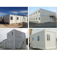 Buy cheap Durable Big Shipping Container Homes , Factory Already Made Modern Container House from wholesalers