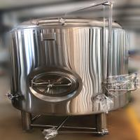 Buy cheap New design  Industrial Beer Brewery Plant 7bbl Beer Brewing Equipment Stainless Steel Bright Beer Serving Tank from wholesalers