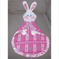 Buy cheap Cute Soft Kids Plush Dolls Baby Bunny Security Blanket Lovey Fleece Satin from wholesalers