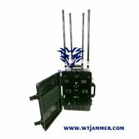 Buy cheap High Power Draw Bar Box 6-8 Channels Mobile Signal Jmmer 300W Exspcially for Drone  Jammer from wholesalers