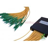 Buy cheap ABS Box Type PLC Fiber Optic Splitter 1x4 1x8 1x16 1x32 for CATV Network / FTTH from wholesalers