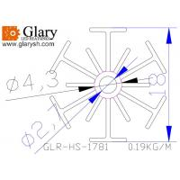 Buy cheap GLR-HS-1781 18mm small aluminum cooler for led corn light from wholesalers