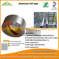 Buy cheap Widely use Aluminum foil insulation waterproof tape from wholesalers