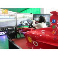 Buy cheap Virtual Driving SimulatorCoin Operated Game Machine For Driving Simulator Games from wholesalers