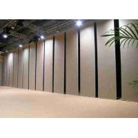 Buy cheap Ceiling Mount Sliding Room Dividers Operable Easy Operation 12mm MDF from wholesalers