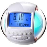Buy cheap 7 color chang clock with radio and calendar HW-201 from wholesalers