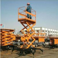 Buy cheap Stationary scissor lift stationary hydraulic scissor lift 2T/5M from wholesalers