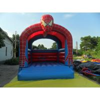 Buy cheap Spider Man Commercial Bounce Houses fire retardant , Customized from wholesalers