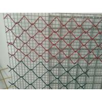 China PVC Coated Galvanized Chain Link Fence System 3.0mm - 4.76mm  Security For Agriculature on sale