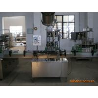 Buy cheap Automatic glass bottle crown caps capping machine / beer bottle cap sealing machine from wholesalers