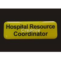 Buy cheap Fade Proof 0.8mm PVC Digital Printing Plastic Magnetic Name Tags For Staff from wholesalers