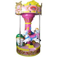 Buy cheap Hansel  shopping mall revolving machine Type animal kids rides carousel horse rides for sale from wholesalers
