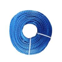 Buy cheap Ultraviolet Resistance UHMWPE Dyneema Anchor Rope , Red Dyneema Tow Rope from wholesalers