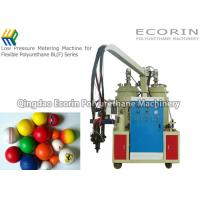 Buy cheap Fully Automatic Polyurethane Foam Machine For Golf Ball  Alarm Function from wholesalers
