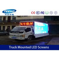 Buy cheap P10 IP65 Truck Mounted LED Screens , Full Color Outdoor Advertising Led Display from wholesalers