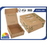 Buy cheap Printed Brown Corrugated Mailer Box kraft paper gift boxes Beauty Product Packaging from wholesalers