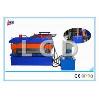 Buy cheap Small Ribs Roof Sandwich Panel Machine Hydraulic Power 3KW With PLC Control from wholesalers