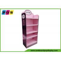 Retail Floor Cardboard Display Stands Install 5 Shelves For Box Packaging Bears FL165