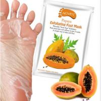 Buy cheap Aliver Foot Mask Aliver Papaya Exfoliating Peel Foot Sock Mask Baby Soft Feet Removes Dead Skin from wholesalers