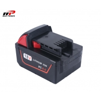 Buy cheap Milwaukee M18 18V 6A 	Lithium Ion Rechargeable Batteries from wholesalers