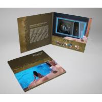 Buy cheap promotion LCD Sreen Video Wedding Invitations for Gifts , Custom Logo / Video from wholesalers