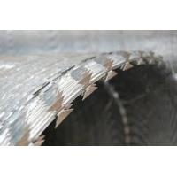 Buy cheap BTO-22 BTO-30 Stainless Steel Razor Barbed Wire Coil For Boundary Segregation from wholesalers