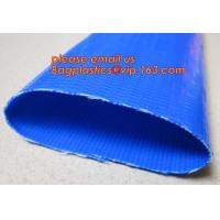 Buy cheap Customized inch 3/4-16 discharge water pvc layflat hose tubing pipe flexible lay flat irrigation agricultural water ho from wholesalers