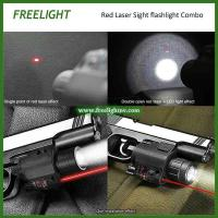 Buy cheap red laser sight Alignment aiming scope with Super Bright 200 Lumen LED Flashlight combo from wholesalers
