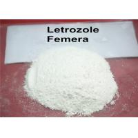 Buy cheap 99.5% High Purity Steroids Powders Letrozole Aromatase Inhibitor Antiestrogen Powders CAS 112809-51-5 from wholesalers