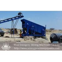 Buy cheap Circular Motion Vibrating Screen Iron Ore Concentration Process from wholesalers