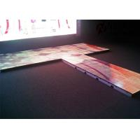 Buy cheap Indoor Interactive P5.95 Floor LED Screen RGB Full Color 1200 Nits from wholesalers