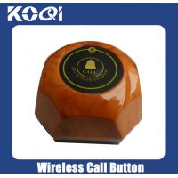 Buy cheap Wireless Call Button for restaurant cafe with CE certification in 433.92MHz from wholesalers