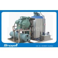 Buy cheap High Grade 15T/hrs Seawater Industrial Ice Making Machine Flaker , 3P / 380V / 50HZ from wholesalers