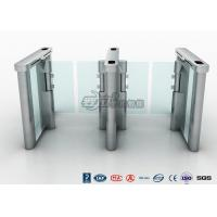 Buy cheap Access Control Speed Gate Turnstile , DC Servo Motor Pedestrian Barrier Gate product