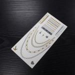 Buy cheap Body Jewelry Flash Waterproof Metallic Temporary Tattoo Sticker from wholesalers