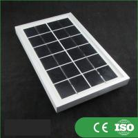 Buy cheap 36 Cells Transparent Mini Solar Panels , Solar Heating Panels TUV Certified from wholesalers