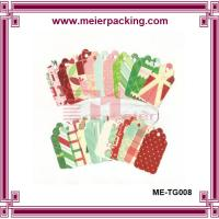 Buy cheap Colorful hang tags, eco-friendly paper tags, recycle paper gift tags ME-TG008 from wholesalers