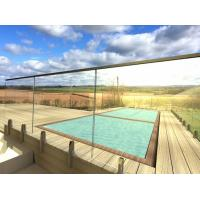 Buy cheap Frameless Tempered Glass Railing / Balustrade for Terrace and Pool from wholesalers