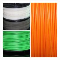 Buy cheap 1.75mm Transparen Orange PLA Plastic Filament For 3D Printer , Grade A product