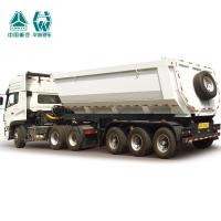 Buy cheap Hydraulic System Side Tipper Trucks , Tipping Chassis Trailers 40T Payload from wholesalers