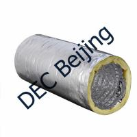 Fiberglass Wool Insulated Flexible Air Duct 8 Inch