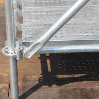 Buy cheap Galvanized Ringlock Scaffolding in Construction building from wholesalers