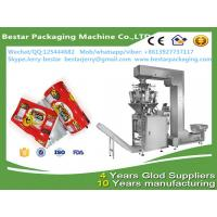 Buy cheap custom printing mulching plastic film for tea packaging with bestar weighting packaging machine from wholesalers