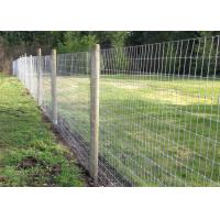 Buy cheap Farm Field Cattle Wire Fence Low Carbon Steel Zinc Coated Oxidation Resistant from wholesalers