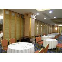 Buy cheap Decorative Modular Partition Walls , Operable Acoustic Partition Wall from wholesalers